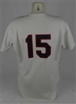Frank Thomas 1990 Chicago White Sox Game Used Rookie #15 Jersey w/Dave Miedema LOA