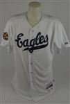 Jose Altuve 2014 Houston Eagles Civil Rights Game Used Jersey w/Dave Miedema LOA
