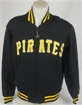 Barry Bonds 1986 Pittsburgh Pirates Game Used Rookie Dugout Jacket w/Dave Miedema LOA