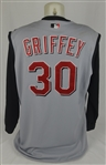 Ken Griffey Jr. 2005 Cincinnati Reds Game Used Jersey Vest w/Dave Miedema LOA