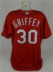 Ken Griffey Jr. 2005 Cincinnati Reds Game Used Jersey w/Dave Miedema LOA