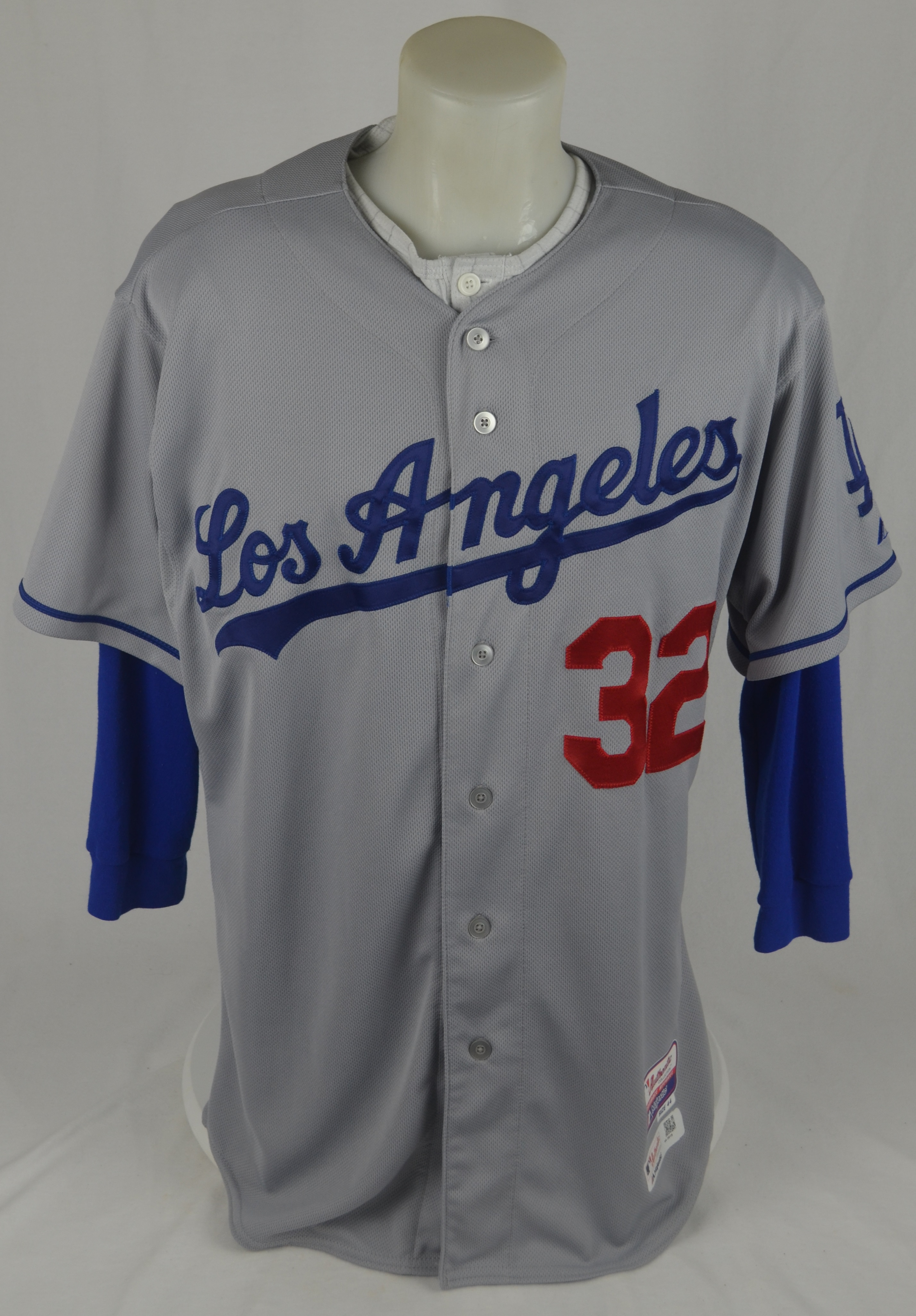 92a9e7c06 ... Sandy Koufax 2015 Los Angeles Dodgers Game Used Jersey w Dave Miedema  LOA ...