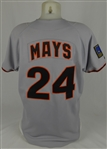 Willie Mays 1994 San Francisco Giants Game Used Jersey w/Dave Miedema LOA