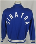 Frank Sinatra c. 1990s Los Angeles Dodgers Dugout Jacket w/Dave Miedema LOA