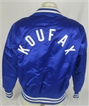 Sandy Koufax c. Late 1970s-Early 1980s Los Angeles Dodgers Game Used Dugout Jacket w/Dave Miedema LOA