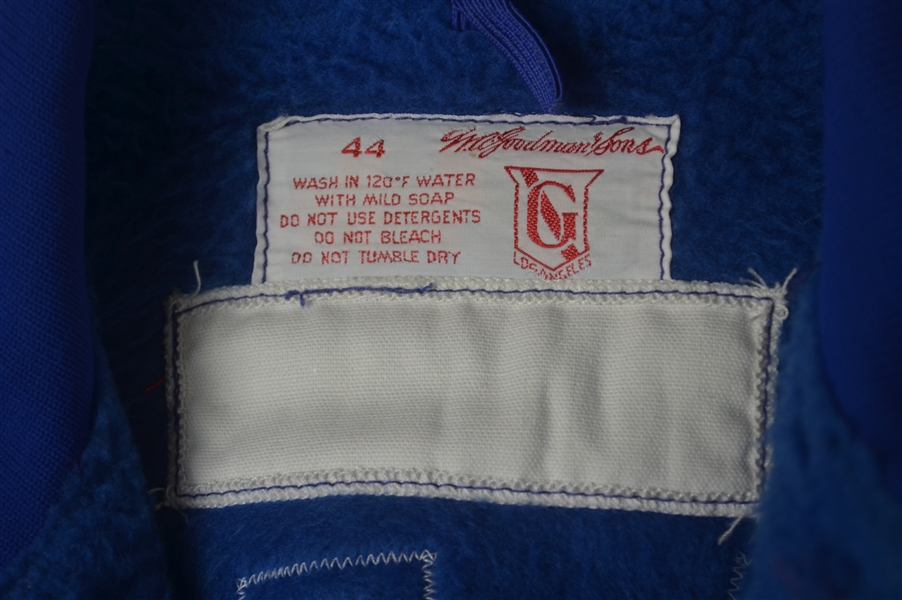 Sandy Koufax c. Late 1970's-Early 1980's Los Angeles Dodgers Game Used Dugout Jacket w/Dave Miedema LOA