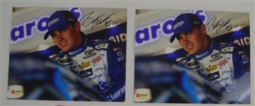 Brett Moffitt Lot of 10  Autographed & Inscribed 2015 Cup ROY* NASCAR 8x10 Photos
