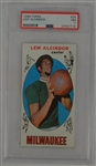Lew Alcindor 1969 Topps #25 Rookie Card PSA 7 NM