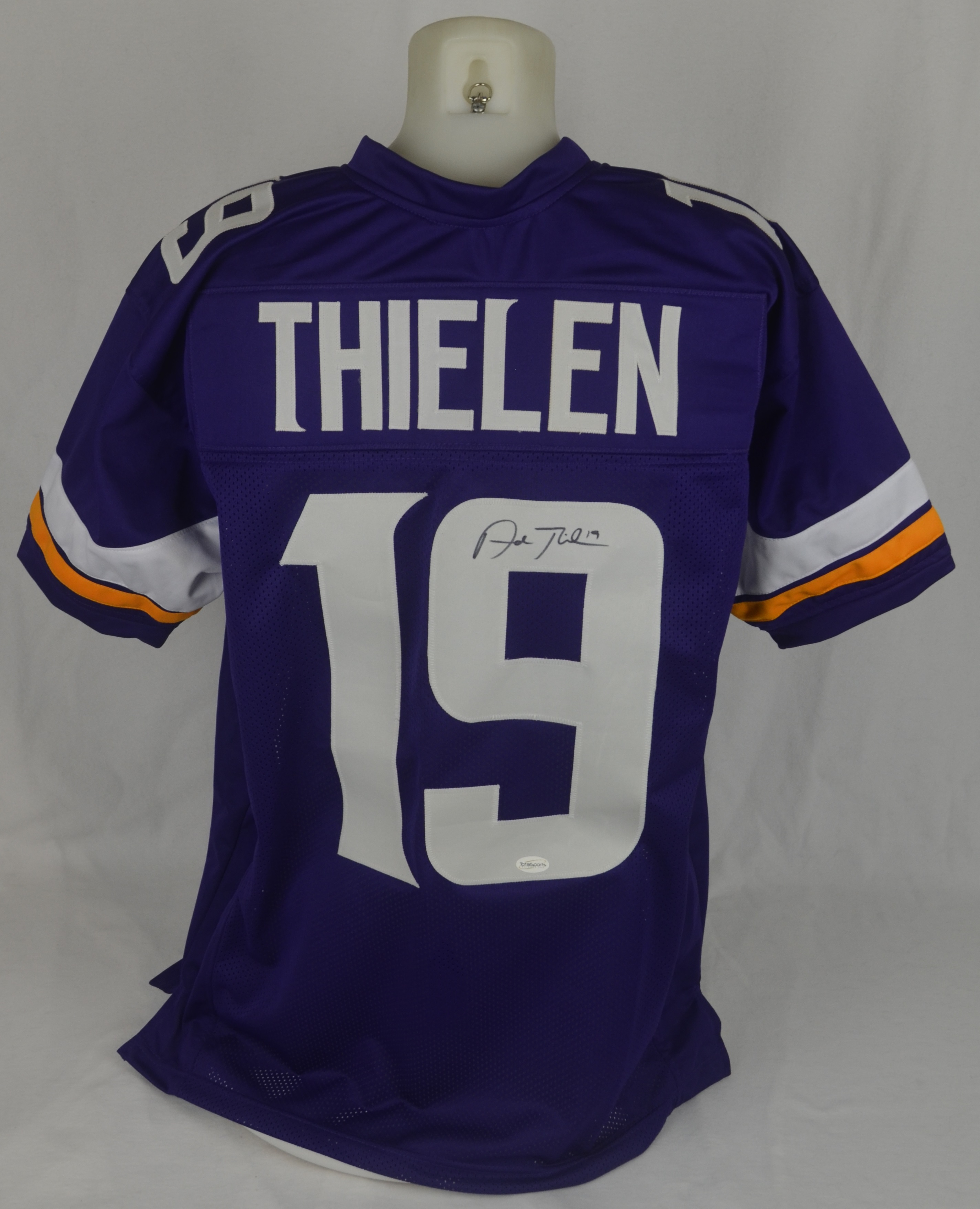 wholesale dealer e1625 ba25b Lot Detail - Adam Thielen Autographed Minnesota Vikings Jersey