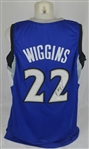 Andrew Wiggins Autographed Minnesota Timberwolves Jersey