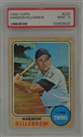 Harmon Killebrew 1968 Topps Card #364 PSA 9 Mint