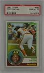Tony Gwynn 1983 Topps Rookie Card #482 PSA 10 Gem Mint