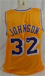Magic Johnson Autographed Los Angeles Lakers Jersey