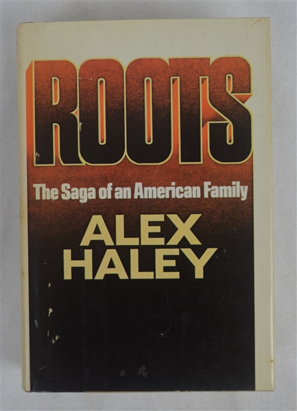 Roots Book Signed by Alex Haley