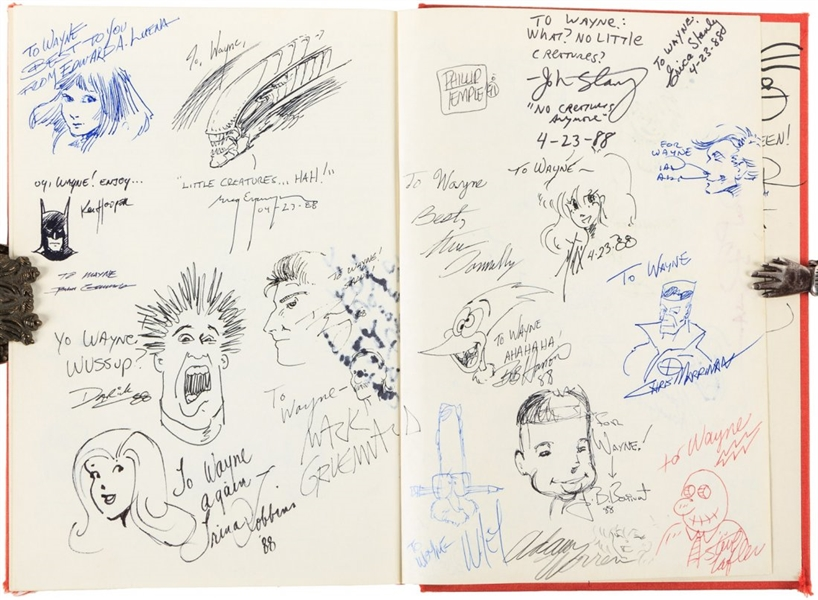 All in Color For A Dime Book 303 Signatures Including Stan Lee & David Prowse PSA/DNA