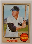 Mickey Mantle 1968 Topps Baseball Card