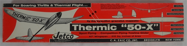 Vintage Jetco Thermic 50-X 1960s Airplane