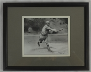 Honus Wagner 5x7 Framed Original James Fiorentino Watercolor Painting