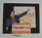 Michael J. Fox Signed Limited Edition James Fiorentino Giclee