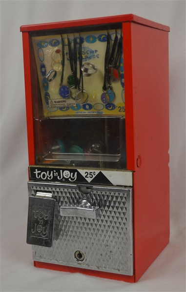 Vintage Toy 'N Joy Friendship Necklaces Gumball Vending Machine