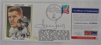 Howie Long Autographed First Day Cover PSA/DNA
