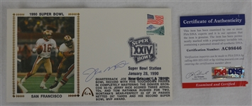 Joe Montana Autographed First Day Cover PSA/DNA