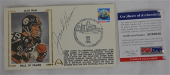 Jack Ham Autographed First Day Cover PSA/DNA