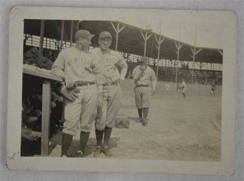 Nick Collop & Walter Gilbert New York Yankees 1926 Vintage Original Type I Photograph
