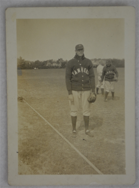 Bob Meusel New York Yankees 1926 Vintage Original Type I Photograph