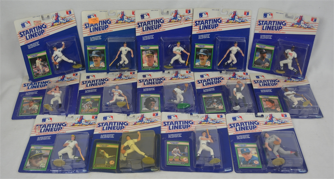 MLB 1989 Starting Line-Up Collection