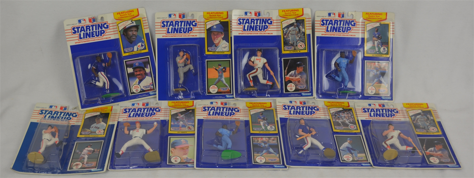 MLB 1990 Starting Line-Up Collection w/Rookie Collectors Cards