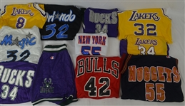 NBA Collection of 16 Jerseys