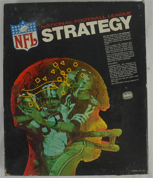 Vintage 1970 NFL Strategy Game by Tudor