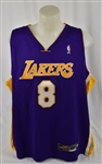 Kobe Bryant 2001 Los Angeles Lakers NBA Authentic Autographed Jersey
