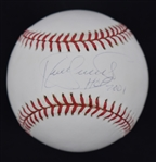 Kirby Puckett Autographed HOF 2001 Inscribed Baseball