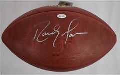 Randy Moss Autographed Official NFL Football