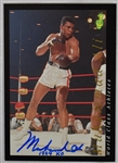 Muhammad Ali Autographed & Inscribed Boxing Card