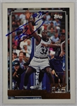 Shaquille ONeal Autographed Rookie Basketball Card