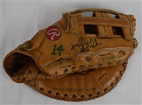 Kent Hrbek c. 1980s Minnesota Twins Professional Model Fielding Glove w/Heavy Use