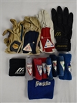 Minnesota Twins Collection of Professional Model Wristbands w/Medium Use