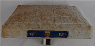 Mike Trout 2014 Game Used Base From 1st MVP Season
