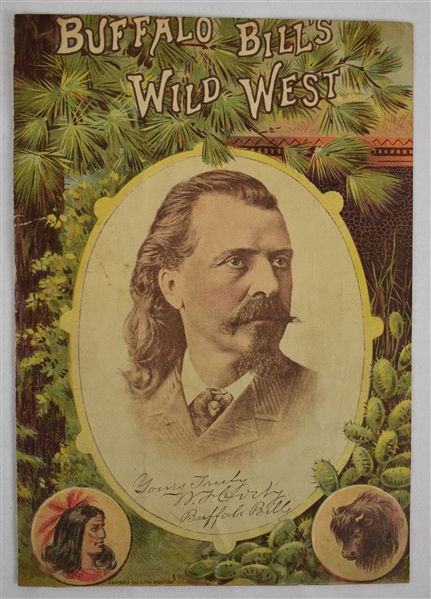 Buffalo Bill Cody Autographed Magazine Cover