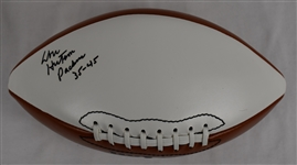 Don Hutson Green Bay Packers Autographed & Inscribed Football