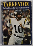 Tarkenton 1976 Hard Cover Book Signed by Fran Tarkenton