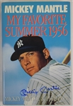 My Favorite Summer Hard Cover Book Signed by Mickey Mantle