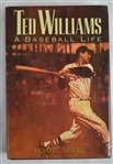 A Baseball Life 1991 Hard Cover Book Signed by Ted Williams