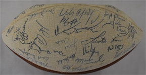 Green Bay Packers 1984 Team Signed Football