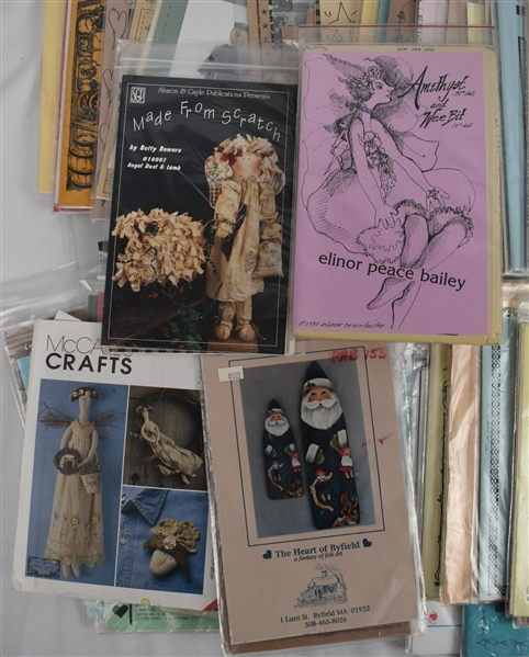 Vintage Collection of 100 Christmas Craft Kits
