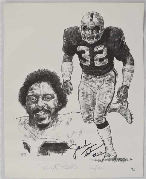 Jack Tatum Signed Limited Edition Lithograph