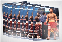 Manny Pacquiao Lot of 9 Autographed 16x20 Photos